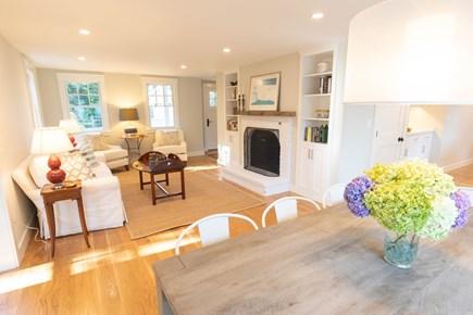 Katama - Edgartown Martha's Vineyard vacation rental - Living Room Area