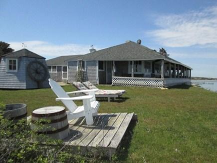 Chappaquiddick, Edgartown Martha's Vineyard vacation rental - Right Side Yard