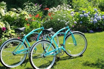 Oak Bluffs Martha's Vineyard vacation rental - We have bicycles on the property for our guest to use around town