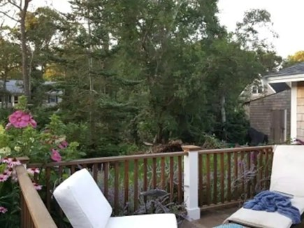 Oak Bluffs Martha's Vineyard vacation rental - Relax on the deck