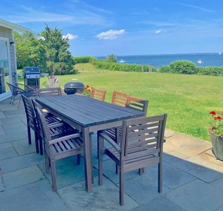 Vineyard Haven Martha's Vineyard vacation rental - Outdoor dining by the sea