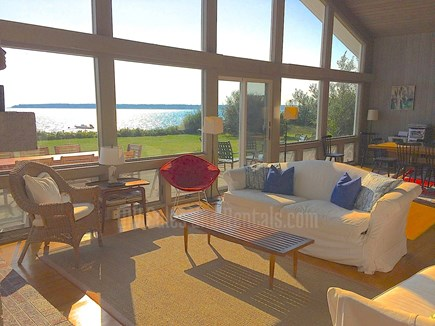 Vineyard Haven Martha's Vineyard vacation rental - Open Airy Living Room