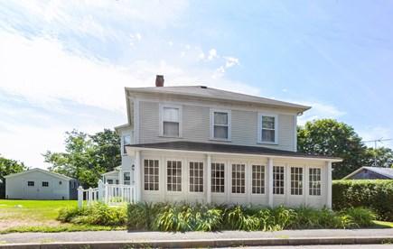 Oak Bluffs Martha's Vineyard vacation rental - Outside...great side yard for games on quiet street
