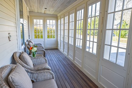Oak Bluffs Martha's Vineyard vacation rental - Front screened in porch perfect for watching the world go by