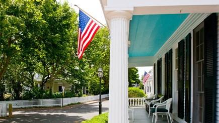 Edgartown Martha's Vineyard vacation rental - Lower front porch