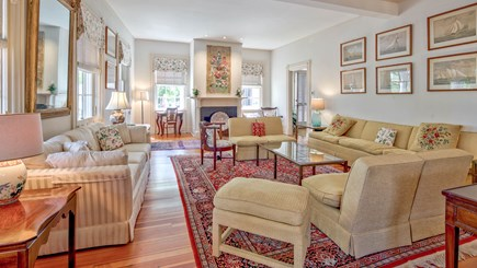 Edgartown Martha's Vineyard vacation rental - Spacious, grand, front living room