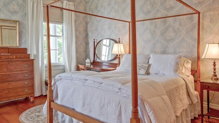 Edgartown Martha's Vineyard vacation rental - John O. Morse Room - Bedroom 1 on 2nd floor - queen bed