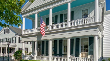 Edgartown Martha's Vineyard vacation rental - Grand front porches from North Water St