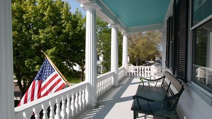Edgartown Martha's Vineyard vacation rental - Porch