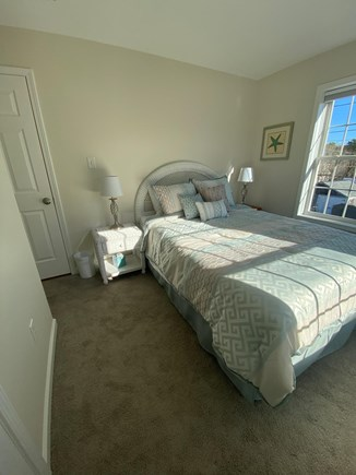 Vineyard Haven Martha's Vineyard vacation rental - The Menemsha Room with a queen size bed and memory foam mattress.