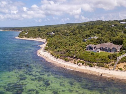 West Tisbury, Upper Makonikey Martha's Vineyard vacation rental - Beautiful Waterfront Home with steps to a small sandy beach