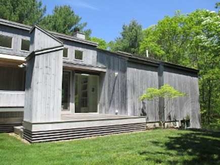 West Tisbury Martha's Vineyard vacation rental - Guest House side view