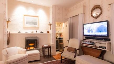 Edgartown Martha's Vineyard vacation rental - West Living Room with bar - 2016