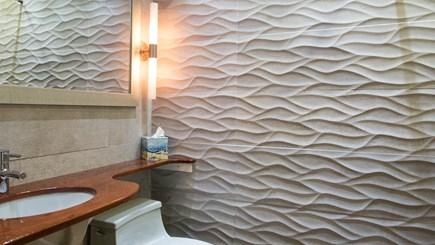 Edgartown Martha's Vineyard vacation rental - West Bathroom 2 with zero curb shower