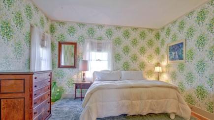 Edgartown Martha's Vineyard vacation rental - Green Room - Bedroom 5 with king or twins
