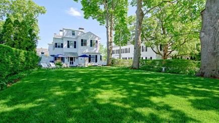 Edgartown Martha's Vineyard vacation rental - West Wing and lawn