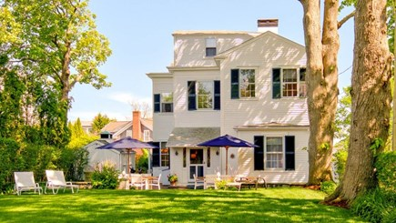 Edgartown Martha's Vineyard vacation rental - West Wing of Captain Morse House