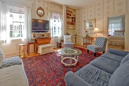 Edgartown Martha's Vineyard vacation rental - West Living Room Area looking into Bedroom 11