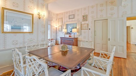 Edgartown Martha's Vineyard vacation rental - West Dining Room Area looking into kitchen