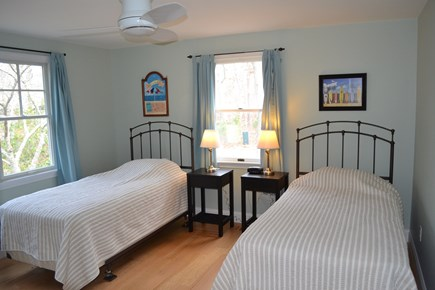 Oak Bluffs, East Chop Martha's Vineyard vacation rental - Bedroom with two twin beds