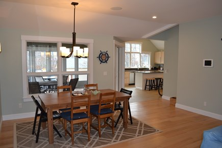 Oak Bluffs, East Chop Martha's Vineyard vacation rental - Dine inside or on the screened porch