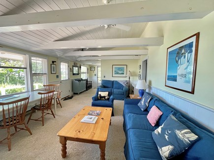 Oak Bluffs Martha's Vineyard vacation rental - Cheery Living Room with Waterview
