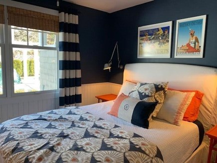 Oak Bluffs Martha's Vineyard vacation rental - Bedroom with view of the pool