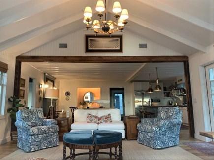 Oak Bluffs Martha's Vineyard vacation rental - Living room to kitchen/dining