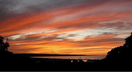 Chilmark, Menemsha Martha's Vineyard vacation rental - Sunset waterview over Menemsha