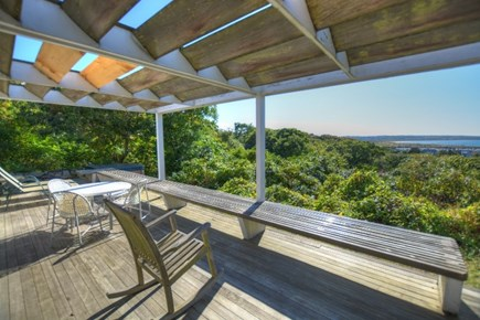 Chilmark, Menemsha Martha's Vineyard vacation rental - Great deck for enjoying day or nght