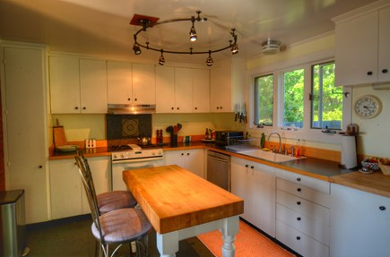 Chilmark, Menemsha Martha's Vineyard vacation rental - Great kitchen