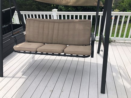Edgartown Martha's Vineyard vacation rental - Grill is located on the ground by the steps.