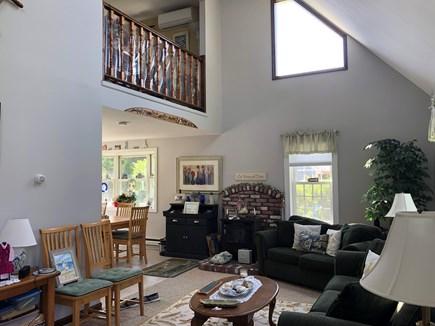 Edgartown Martha's Vineyard vacation rental - Living room, TV not shown.