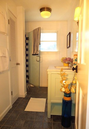 Vineyard Haven Martha's Vineyard vacation rental - 2 modest bathrooms plus outdoor shower