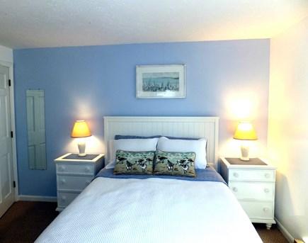 Vineyard Haven Martha's Vineyard vacation rental - 1st floor Queen bedroom w/ patio & pool access