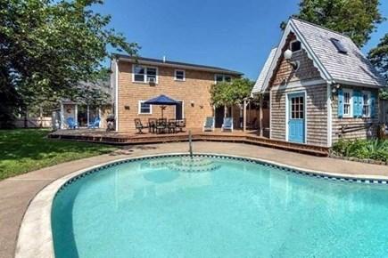 Vineyard Haven Martha's Vineyard vacation rental - Pool and Patio - Back Yard