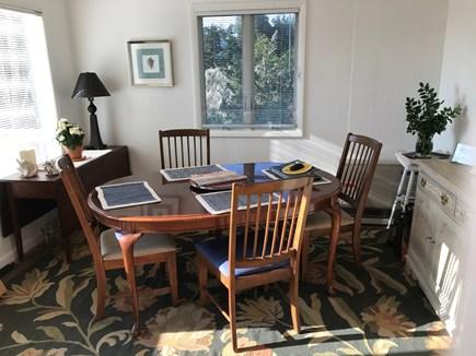 Oak Bluffs-Brush Pond/Eastvill Martha's Vineyard vacation rental - Dining room overlooks the water