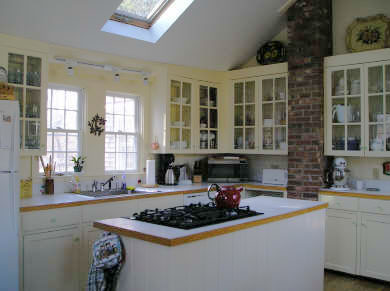 West Tisbury Martha's Vineyard vacation rental - Kitchen with cathedral ceiling