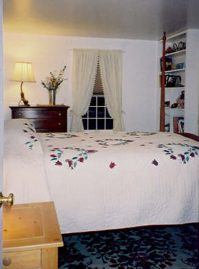 West Tisbury Martha's Vineyard vacation rental - Master bedroom
