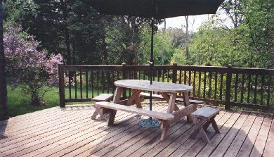 West Tisbury Martha's Vineyard vacation rental - Deck