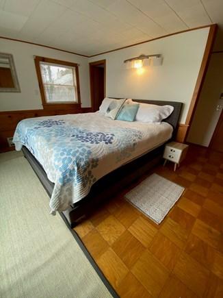 Vineyard Haven Martha's Vineyard vacation rental - Bedroom #1 - King Bed w/ Ensuite Bath, Waterview & Deck Access