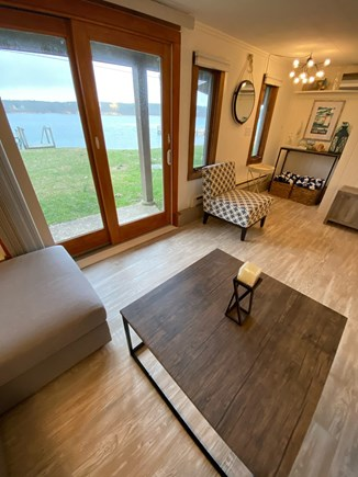 Vineyard Haven Martha's Vineyard vacation rental - Direct beach & dock access from lower level living room