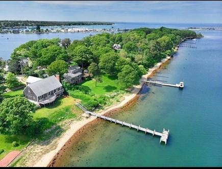 Vineyard Haven Martha's Vineyard vacation rental - 85 feet of private sandy beach at your doorstep