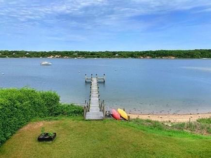 Vineyard Haven Martha's Vineyard vacation rental - Private Boat Dock w/ Fresh Water, Night Lights & Electricity