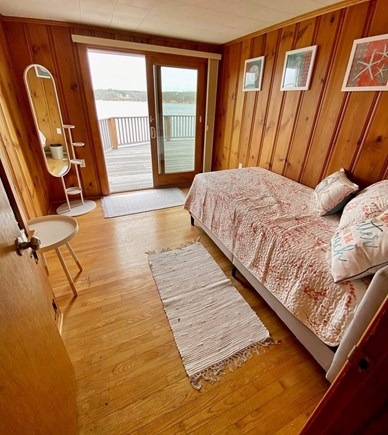 Vineyard Haven Martha's Vineyard vacation rental - Bedroom #3 - Twin Bed w/ Water view & Deck Access