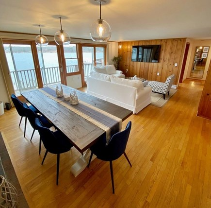 Vineyard Haven Martha's Vineyard vacation rental - Dining Area #1 - Seating for 8 with Beautiful Water views!
