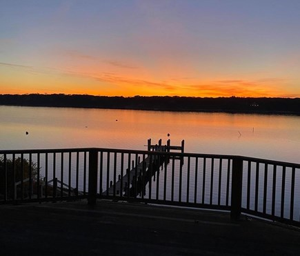 Vineyard Haven Martha's Vineyard vacation rental - Beautiful Sunsets from the deck overlooking private boat dock!