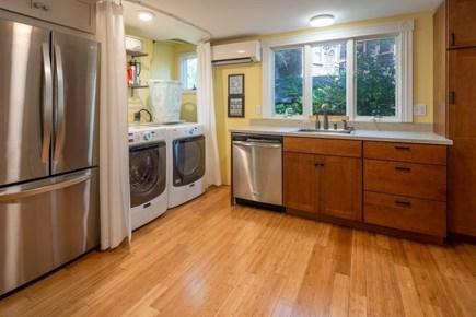 Oak Bluffs, East Chop Martha's Vineyard vacation rental - Kitchen includes large capacity fridge, washer, dryer, dishwasher