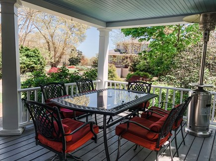 Oak Bluffs, East Chop Martha's Vineyard vacation rental - Outdoor, covered dining with heat lamp