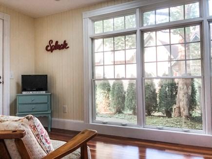 Oak Bluffs, East Chop Martha's Vineyard vacation rental - 1st-floor sun room (view 2)